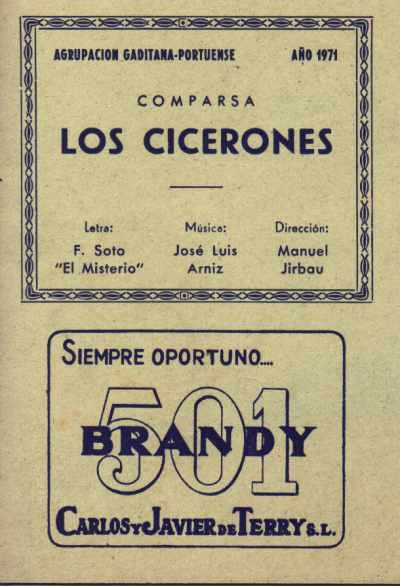 Los Cicerones - Cancionero
