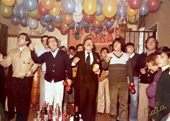1980.- Cuba - Ensayo en la peña de José Luis Arniz