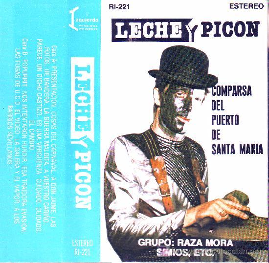 Manuel Salmerón Aguirre - Portada de la Cassette de 1983.- Leche y Picón