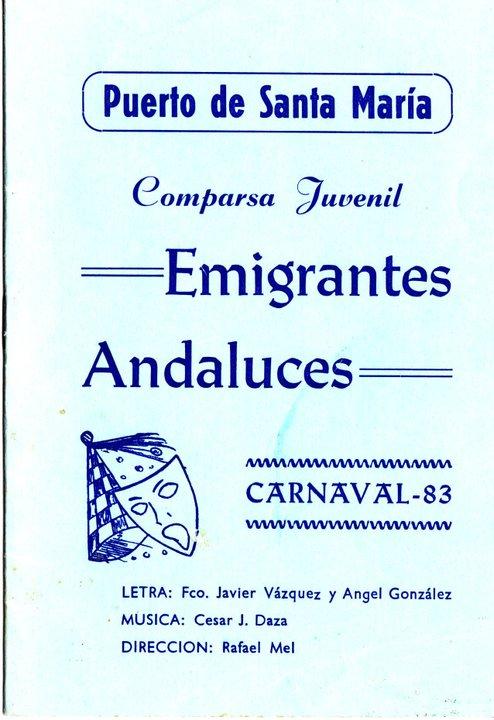 Emigrantes Andaluces - Cancionero