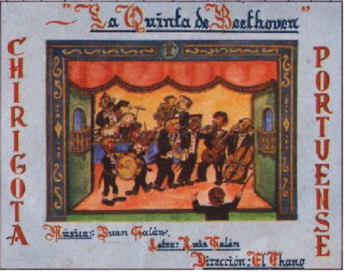 La Quinta de Beethoven - Boceto original de Fco. Sara Zampalo