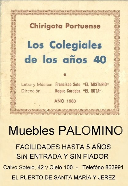 Los Colegiales - Cancionero