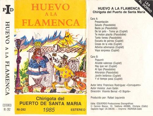 Huevo a la Flamenca - Carátula Cassette
