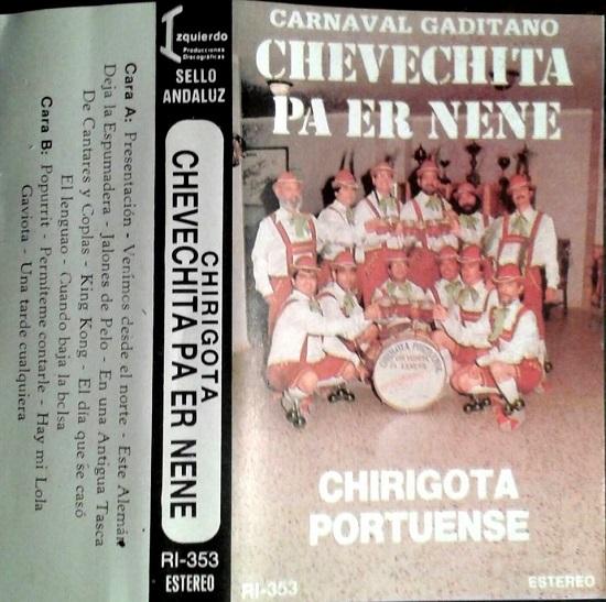 Chevechita pa er nene - Portada Cassette