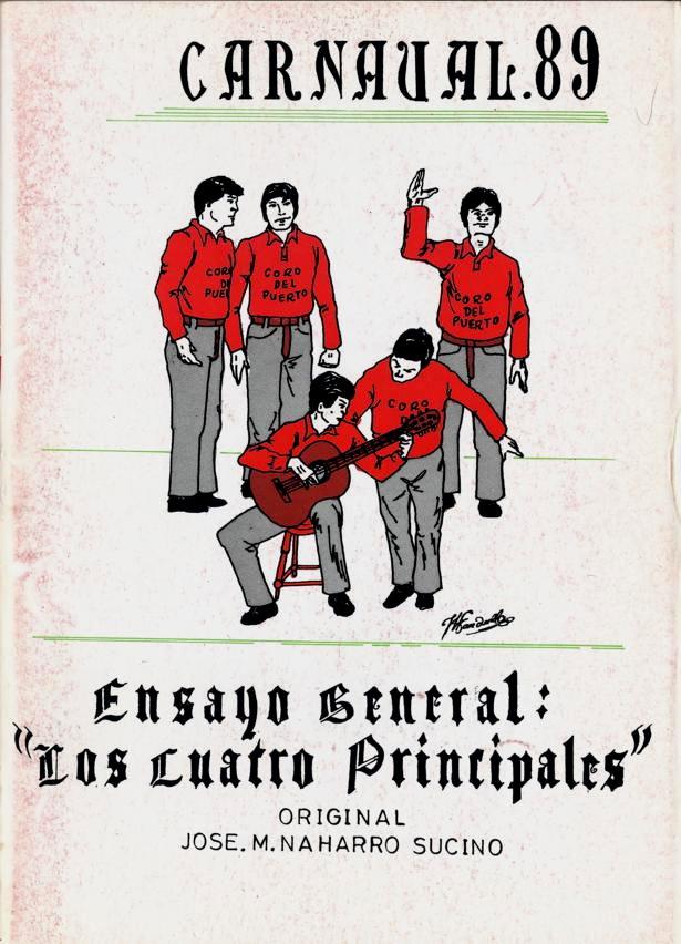 """Ensayo General: """"Los cuatro principales"""""""