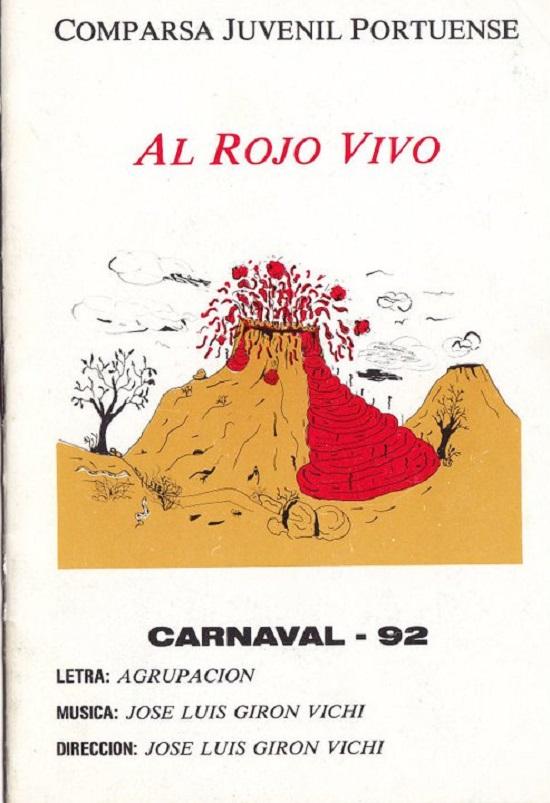 Al Rojo Vivo - Cancionero