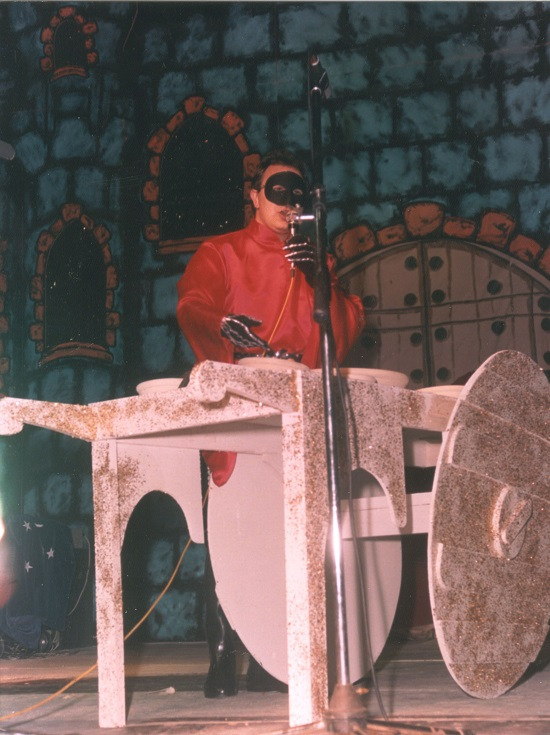 Pregón de Luis Galán - Disfraz de Diablo