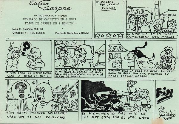 Romancero - Portuense 1 - Viñeta