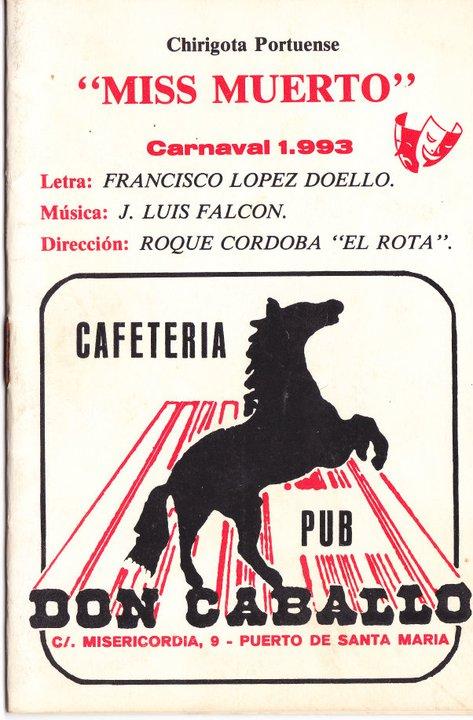 Miss Muerto - Cancionero