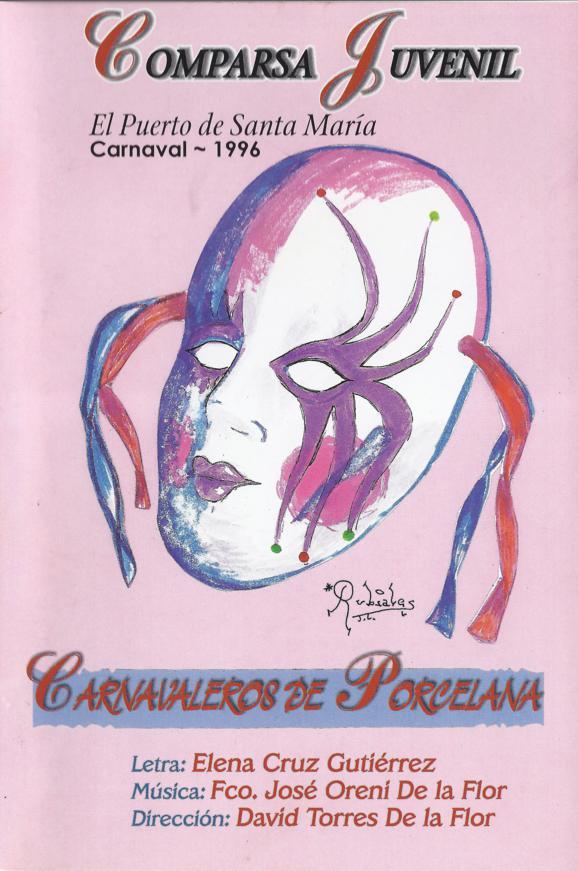 Carnavaleros de Pordelana - Portada de su Cancionero