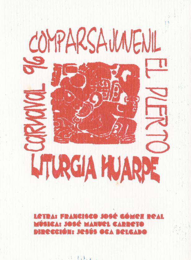 Liturgia Huarpe - Portada de su Cancionero