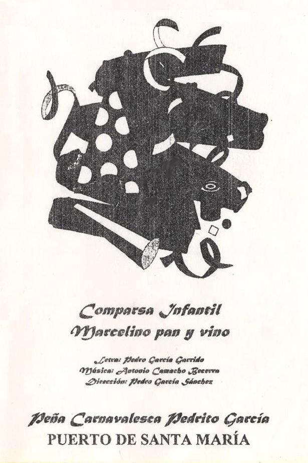 Marcelino Pan y Vino - Portada de su Cancionero