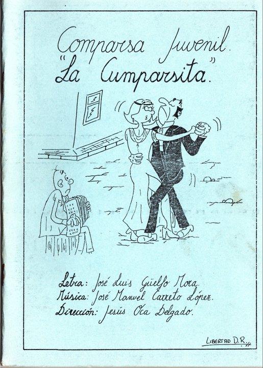 La Cumparsita - Portada del Cancionero