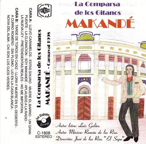 Makandé - Carátula Cassette