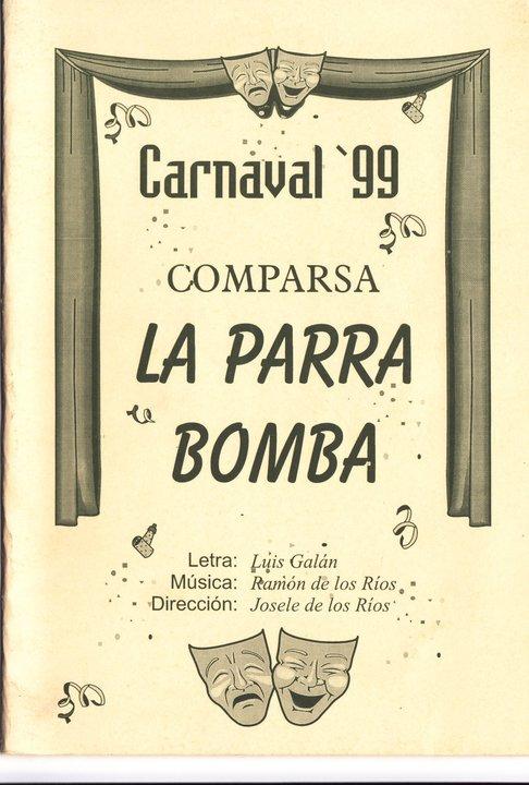La Parra Bomba - Cancionero