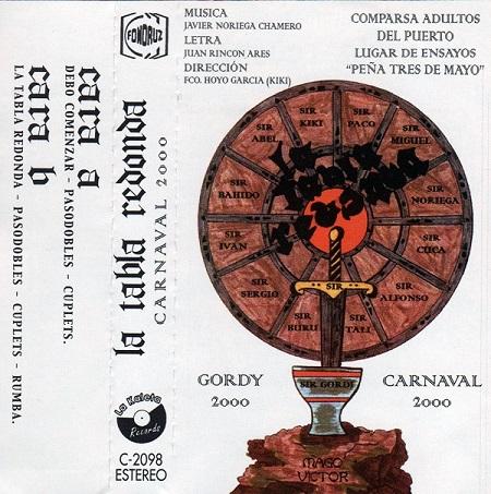La Tabla Redonda - Portada del Cassette.