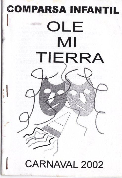 Ole Mi tierra - Cancionero