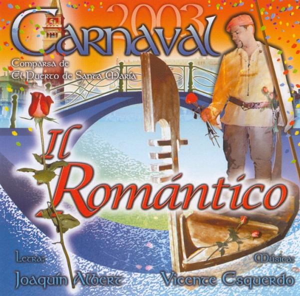 IL ROMANTICO - PORTADA DEL CD