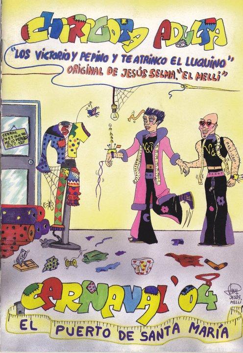 Los Victorio y Pepino y te atrinco el Luquino - Cancionero