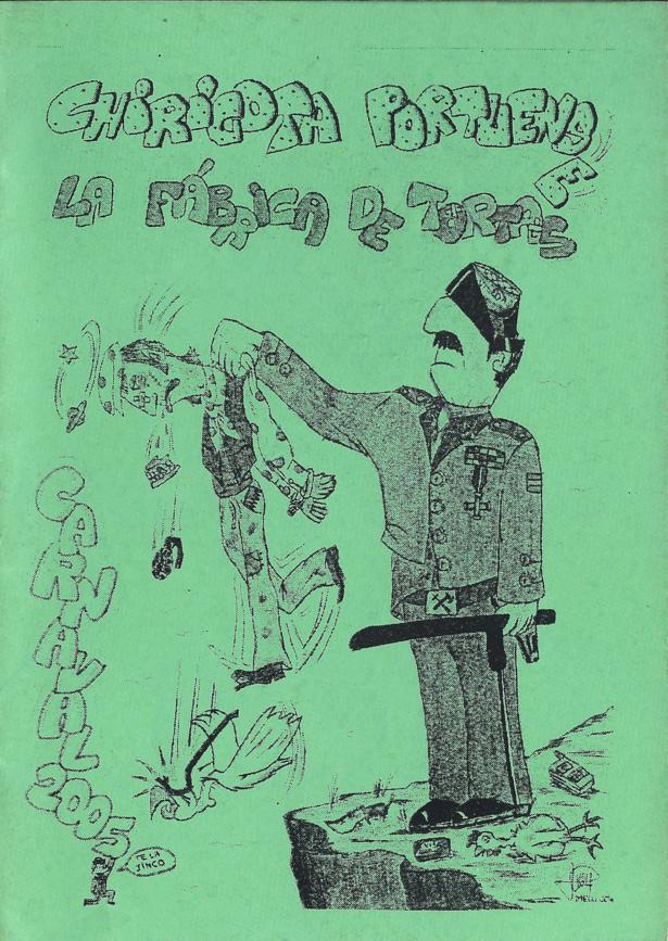 La fabrica de tortas - Portada de su Cancionero