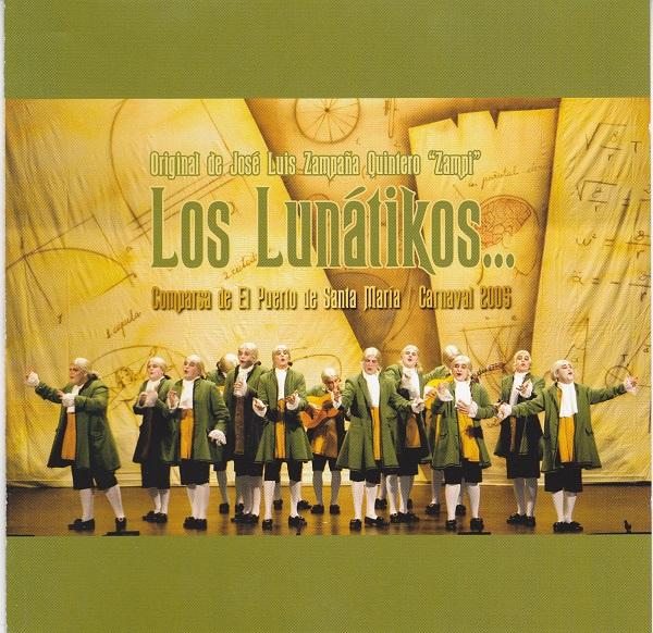 Los Lunátikos - Portada CD