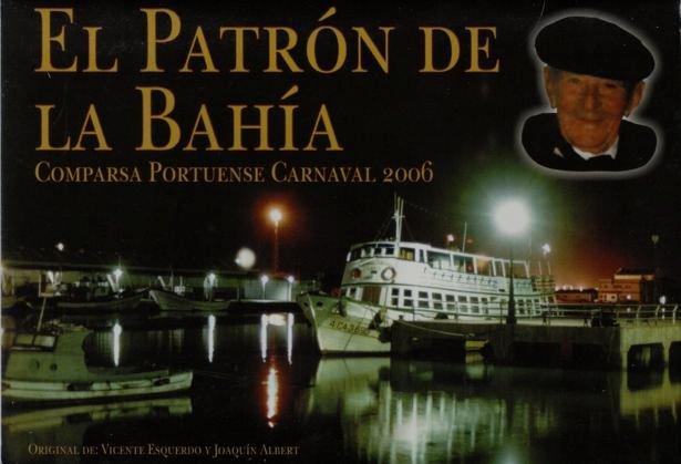 El patrón de la bahía - Portada de su Cancionero