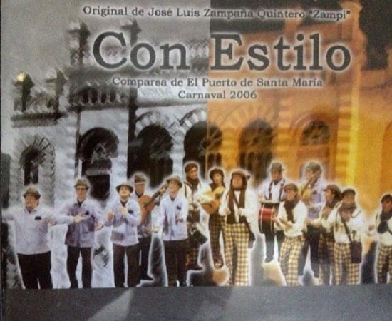 Con Estilo - Portada CD