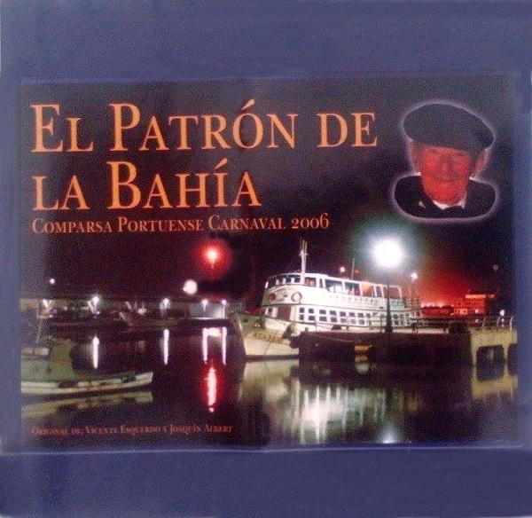 El Patrón de la Bahía - Portada CD