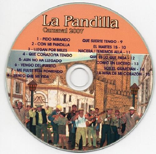 La Pandilla 1939 - Disco CD