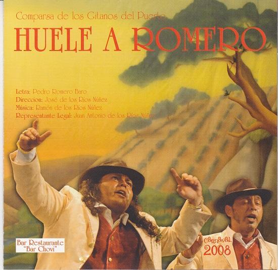 Huele a Romero - Portada del CD