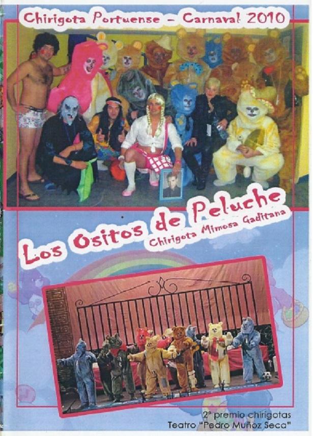 Los Ositos de Peluche - Portada de su Cancionero.