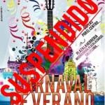 El Carnaval de Verano, se pospone hasta nueva fecha