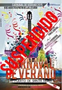 Cartel Carnaval de Verano