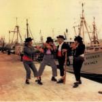 1974.- Los cuatro del Cante Grande