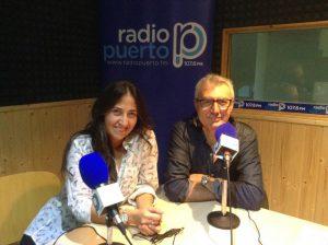 Pomares y Melisa Rivas