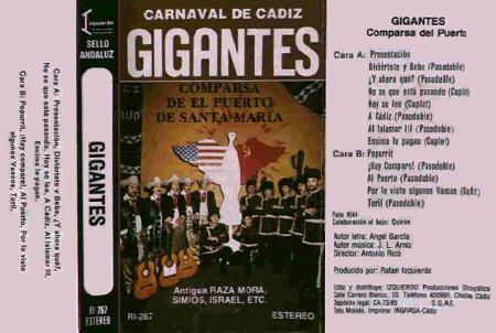 Gigantes - Carátula