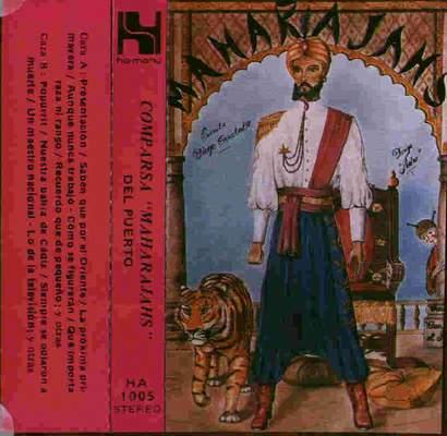 Maharajash - Carátula Cassette