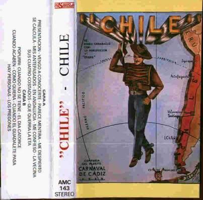 Chile - Chile - Carátula Cassette