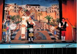 Don Quijote - Sancho Panza y un ventero de la Mancha