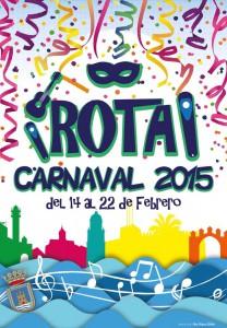 Cartel del Carnaval de Rota - 2015