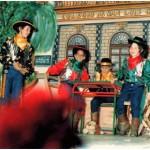 1990.- El Bueno, el Feo, el Malo y el de detrás con el palo