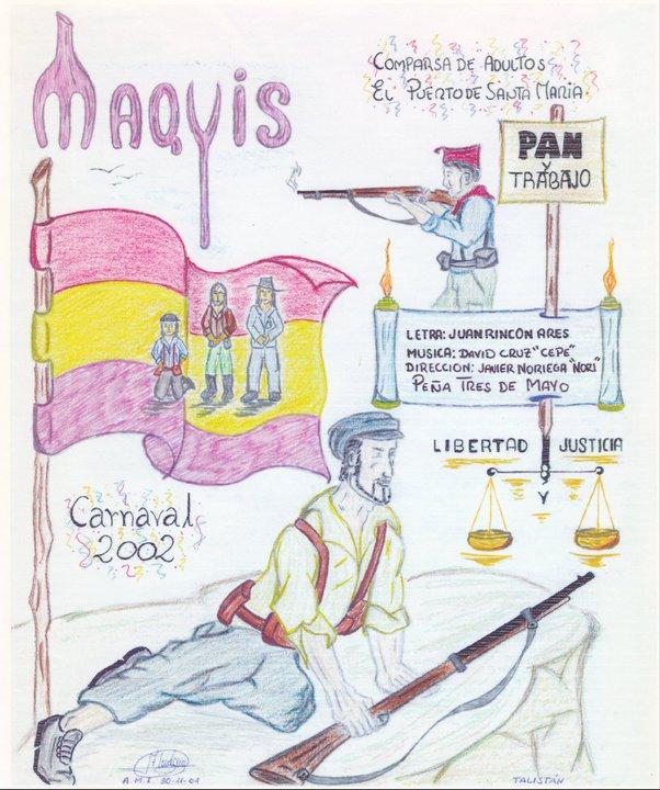 Maquis - Boceto