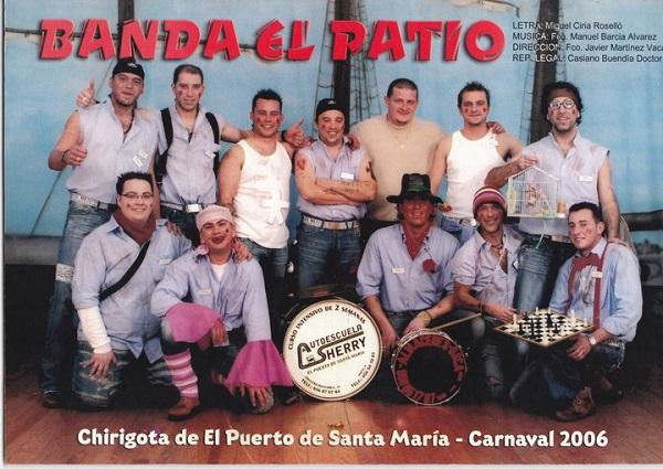 Banda el Patio - Cancionero