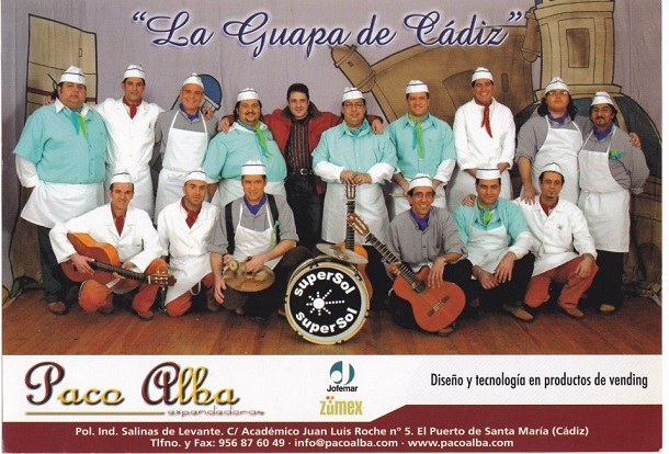La Guapa de Cádiz - Boceto