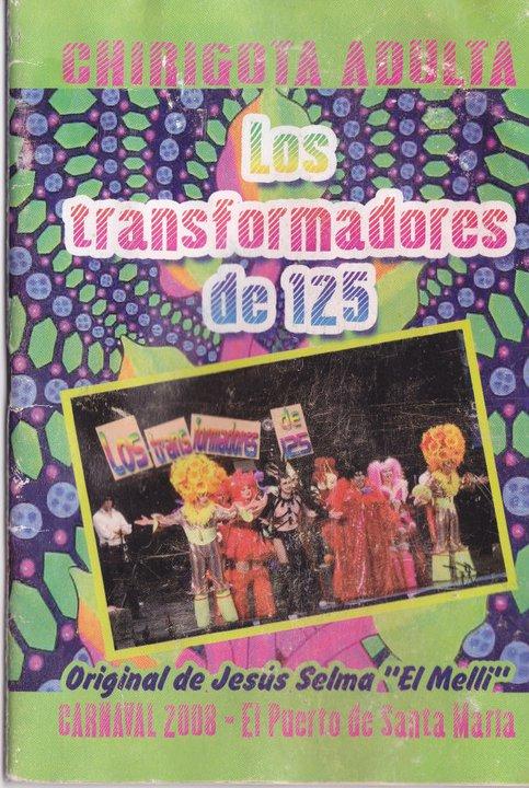 Los Transformadores a 125 - Cancionero