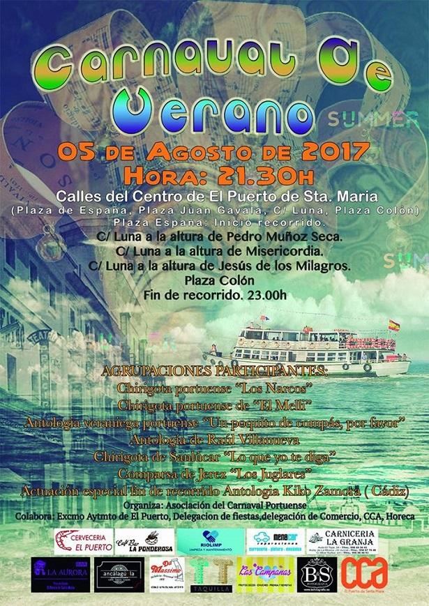 Cartel - Carnaval de Verano 2017