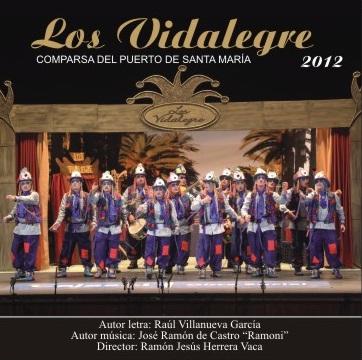 Los Vidalegre - Carátula CD
