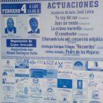 Cartel sobre el Programa de actos para la entrega del XXXV Vapor de Oro otorgado por la Peña la Mezquita