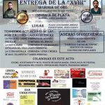 La Peña «El Vaporcito» otorgará su máximo galardón a..: