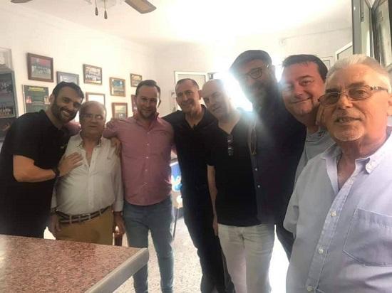 """Ex-componentes de algunas de las agrupaciones de """"Los Majaras"""""""